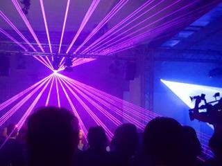 Individuell konzipierte Lasershows als Highlight
